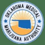 Oklahoma medical marijuana authority badge